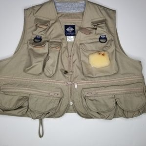Columbia Fly Fishing Vest size XL in ex cond